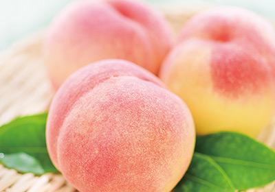 桃の香りが甘く広がる夏の味わい
