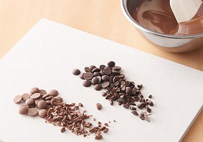 ラングドシャ<span>(プレーンとショコラ)</span><br>−<br>クーベルチュールチョコレートのなめらかな口どけ